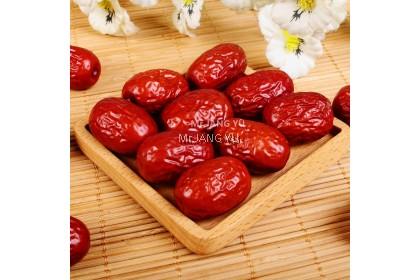 Mr.JANG YU [Size XL] Red Dates With Seed新疆无硫大红枣 Kurma Merah Kering Cina-Mr.JANG YU