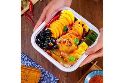 Mr.JANG YU自热火锅 自煮懒人火锅 Vegetarian Instant Hotpot/ Lazy Instant Noodle Steamboat pot