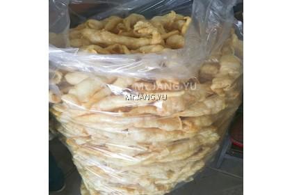Mr.JANG YU Premium baked Mackerel Fried Fish Maw 焗马鲛鱼鳔 Tenggiri Ikan Mas(100% 干货  鱼鳔油炸) 100g 批发,零售